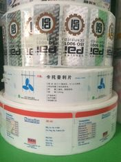 Self Adhesive Industry Printing Custom Roll Labels For 76mm Inside Diameter